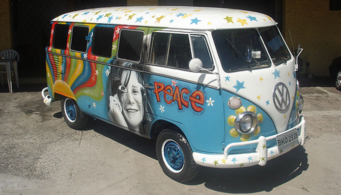 Van Peace and Love